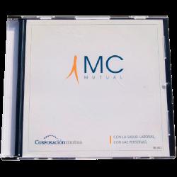 Caja CD delgada con portada